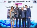 Winner for Best Restaurant Bar: The MAINE Oyster Bar & Grill, DoubleTree by Hilton Hotel Dubai – Jumeirah Beach