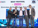 Winner for Best Festival: Emirates Airline Dubai Jazz Festival, Media City Amphitheatre by Chillout Productions