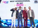 Winner for Best International DJ Set: Tiësto, Dubai World Trade Centre by Holografik Entertainment