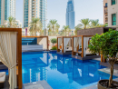 Vida DowntownThis staycation spot overlooks landmarks such as The Dubai Mall, Burj Khalifa and Dubai Opera, and has reduced its prices for the weekend. Stay two nights to save ten percent, stay three nights and save 15 percent and stays of four nights are reduced by 20 percent. In addition, U By Emaar members gain an additional ten percent discount. In-house restaurant 3in1 will be offering up a special London-themed picnic brunch on Friday from Dhs295 and if you miss out, there's a laid back brunch from Dhs139 on Saturday – with both days giving the option to chill out under a poolside cabana.Prices vary. Until Sat Sep 2. Sheikh Mohammed bin Rashid Boulevard, Downtown Dubai (04 428 6888).