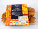Sweet Potato Onion BhajisWe've spent many childhood New Year's Eves snacking on oven onion bhajis back in Blighty – these should be your TV snack of choice (though if you're still doing it on NYE, you may need to consider getting out more).Dhs25.