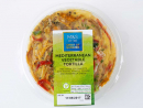 "Mediterranean Vegetable TortillaA protein-packed lunch on the go, just grab a fork and get stuck into this Spanish-inspired combination of free range egg omelette with potato, roasted peppers and mozzarella cheese. It's also part of M&S's ""three for Dhs75"" range (though admittedly not how you're going to get the best value out of that offer). Dhs20."