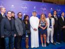 Mohammed K Al Habtoor with La Perle Crew