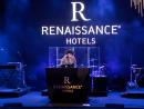Gwen Stefani at Renaissance Downtown Hotel