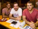 Roger, Rafael and Novak