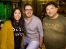 David Daley, Matt Scott and Gemma Acebey