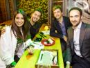 Sara, Marco, Amine and Alberto