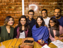 Shyama, Nikhil, Melvina, Parul, Varghese, Niketh and Shalaka