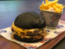 Signature burger at Stars 'N' Bars Warning: this is massive, and large appetites only may apply. It's also served on a charcoal bun and with a meat patty, shredded lettuce, onions, sriracha honey-glazed bacon, jalapeños, pepper jack cheese and red chilli mayo this is a feast in its own right. Can't face the inevitable meat sweats this one will cause? There's the Black Castle burger, which is still served in a charcoal bun, but is a far less intimidating size.Dhs85 (Signature). Dhs70 (Black Castle). La Mer, Jumeirah 1, www.starsnbars.ae.