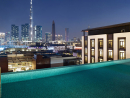 ake a moonlight dipFancy a swim but want to avoid the summer heat? Well you're in luck.La Ville Hotel & Suites has a night pool package, and it's a good deal. The Dip in the Dark offer includes access from 5pm until 10pm every evening to the boutique hotel's rooftop infinity pool which overlooks the glistening skyline. The pool is open every evening until Sunday September 30 and once you've worn yourself out with a bit of doggy paddle, you'll be able to refuel with some tasty bites at La Ville's urban rooftop bar, LookUp.Dhs100 (Sun-Thu, includes Dhs50 food and drink voucher). Dhs150 (Fri-Sat, includes Dhs100 food and drink voucher). Open daily until Sun Sep 30, 5pm-10pm, La Ville Hotel & Suites, City Walk (054 309 5948).