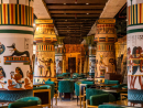 KHOFODubai's first pharaonic restaurant, KHOFO opened its doors in Al Seef late last year and and it's more than fitting of Egyptian royalty. The restaurant is spread across 7,500 square metres with stately columns, hieroglyphic murals and waiters dressed up as the ancient pharaohs themselves. You can expect a load of authentic Egyptian recipes rooted in culinary traditions. Start the day right with an Egyptian breakfast composed of eggs, foul and falafel or get stuck into local Egyptian favourites like molokia (a soup made from mallow leaves), okra, oxtail soup, mahashi (assorted stuffed vegetables) and hawawshi (pita bread and minced meat).Open Sun-Wed 9am-1.30am, Thu-Sat 9am-2am. Al Seef, Bur Dubai (04 388 5005).
