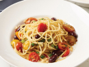 Spaghetti 'Gustosi' at Carluccio'sFollowing the motto of founder Antonio Carluccio, MOF MOF – minimum of fuss, maximum of flavour – this menu is prepared with the most authentic ingredients sourced directly from Italy. Savour favourites such as prawn marinara, penne giardiniera, pizzas and authentic desserts. Its spaghetti gustosi (which means tasty in Italian) is a simple dish of spagetti tossed with garlic, chilli, green peas and Italian black olives served over a cream of burrata cheese and topped with crushed croutons.Dhs49. Lower Ground Floor (04 434 1320).