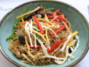 JapchaeManna LandJapchae – a stir-fried mixture of glass noodles and vegetables – holds a firm place in Korean history having been invented for a royal celebration in the seventeenth century. The colourful dish is an unmissable part of any Korean celebration, and Manna Land's rendition – served in a no frills setting that might as well be in the backstreets of Seoul – is about as authentic as you'll find in Dubai. The best part by far is the glass noodles, which are made using sweet potato – they're soft, sticky and a little bit chewy and turn transparent when cooked, adding flair to this traditional dish.Dhs40. Open daily 11am-11pm. Al Hudaiba, Bur Dubai (04 345 3200).