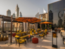 Luna Sky BarGet a taste from of this gorgeous bar's smoky beverages and you'll be well set for the night. It's one of the most romantic spots around, with skyscrapers in the background as the sun goes down. If you're in the surrounding neighbourhoods for dinner (or just finished work) then drop by for an aperitif (you'll get some free snacks with every drink, too) and admire the views.Open daily 5pm-3am. Four Seasons Hotel DIFC, DIFC (04 506 0300).