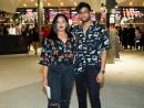Veni Viswam and Eshaal Khan