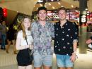 Anya Benger, Aaron Benger and Patrick Mcateer