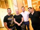 Irina Rakhimkulova, Lucian Colins, Varges Petrosayn and Elias