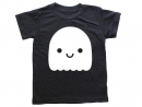 Dhs103Mochi Kids Ghost TeeAdorable hand-printed super soft T shirt for babies and kids.www.mochikids.com