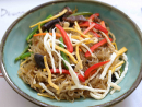 JapchaeManna LandJapchae – a stir-fried mixture of glass noodles and vegetables – holds a firm place in Korean history having been invented for a royal celebration in the seventeenth century. The colourful dish is an unmissable part of any Korean celebration, and Manna Land's rendition – served in a no-frills setting that might as well be in the backstreets of Seoul – is about as authentic as you'll find in Dubai.Dhs40. Al Hudaiba, Bur Dubai (04 345 3200).