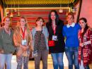 Valerie Vincent , Katy des Fontaines, Karine Legay , Asma Laraiedh, Dana Kamal Najia and Farnaz Faridfar