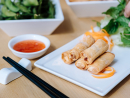 Vegan spring rollsVietnamese FoodiesOur Best Budget restaurant 2019 has a top-notch vegan menu, but our pick of the bunch are these crispy, tasty spring rolls, filled to the brim with crunchy veg. Dunk them in the chilli sauce and gaze out across the JLT lakes for prime enjoyment.Cluster D, JLT (04 565 6088).