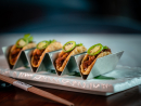Beyond meat tacosAkira BackThis swish Palm restaurant from world-famous Michelin-starred chef Akira Back has a super-tasty vegan menu. Our pick? These deliciously smoky Beyond Meat tacos. We could crunch our way through several platters.W Dubai – The Palm, Palm Jumeirah (04 245 5555).