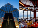 Have sundowners in the world's tallest buildingFrom the ultra-fast direct lift to the 122nd floor of the world's tallest building to the breathtaking views 442m back down again Dubai's Burj Khalifa's signature lounge is simply stunning. Any experience at this massive Dubai landmark, night or day, is special with the restaurant and high (pun intended) teas both noteworthy. Our tip, however, is to turn up for a drink just before sunset in order to enjoy contrasting day and night vistas. Daily 7am-2am. Atmosphere, Burj Khalifa, Downtown Dubai, www.atmosphereburjkhalifa.com (04 888 3828).