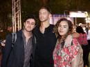 Zade Dabbas, Sandro Andric and Alia Abboud