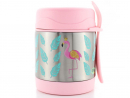 Dhs98 Citron pink flamingo food jarSend them off to school using this to keep their lunch nice and hot. But it won't just be the warm noodles making their classmates jealous.www.sprii.ae