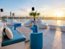 Cielo Sky Lounge There's something supremely soothing about a sunset by the Creek and Cielo certainly stands out when it comes to vantage points. The gang of mixologists here will soon have you happy with your choice of venue as you sip a sundowner perfectly suited to the serene ambience. The views from here are some of the best Dubai has to offer. Another reason why we're big fans of this place.Open Sat-Thu 5pm-3am, Fri 4pm-3am. Dubai Creek Golf & Yacht Club, Deira (04 416 1800).
