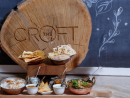 The Croft The Croft's beautiful terrace is waiting for sweethearts to enjoy its views and take on its unique British brunch, inspired by a blend of cultures and tastes across the Commonwealth overlooking the Dubai Marina.Dhs798 per couple. Fri Feb 14, 7pm-10pm. The Croft, Dubai Marriott Harbour Hotel & Suites (04 319 4000).