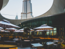 The LoftThis swanky bar is conveniently located in the Dubai Opera and if you visit on a show night you'll be greeted with the buzz of chatting theatregoers, clinking of glasses and live cooking action from the open kitchens. The terrace area is a gorgeous spot with plenty of greenery, as well as top views of Burj Khalifa. The bar is open from 4pm with a daily happy hour until 7pm with select drinks for Dhs35 making it ideal a spot for a drink with stellar views.Open daily 4pm-midnight. Dubai Opera, Downtown Dubai (04 362 7312).