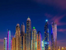 Dubai Marina, you truly are a beauty spot at night.Credit: @wolnerchris