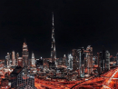 Needless to say, the heart of Dubai comes alive at night – especially when at the weekend.Credit: @farjadfk