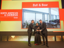 Best North American & Caribbean: Bull & Bear, Waldorf Astoria Dubai International Financial Centre, Burj Daman, DIFC