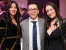 Wafaa Nafid, Diego Sanchez and Michele Jenman