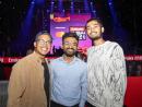 Moses Thomas, Jerome Deligero and Ayush Narayanan