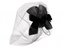 Gucci – Velvet-bow net and straw fascinator from MatchesFashion, Dhs12,220