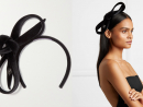 Philip Treacy – Bow-detailed embellished velvet headband from Net-a-Porter, Dhs1,727.50