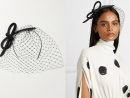 Philip Treacy – Crystal-embellished mesh and glittered velvet fascinator from Net-a-Porter, Dhs3,322