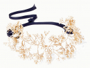 14 / Quarorze – Baby's Breath gold-tone pearl headband from Net-a-Porter, Dhs1,860