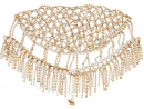 Rosantica – Divinità crystal-embellished headpiece from MatchesFashion, Dhs3,095