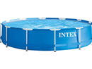 Intex Metal Frame Pool Without Pump (12ft) Dhs481.25 Let little swimmers make a splash in this huge paddling pool. The above ground metal frame pool is easy to assemble and is ideal for the hotter months.www.mumzworld.com.