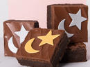 Moonlight Brownies, Dhs60 – set of four For Ramadan, SugarMoo's much-loved brownies are covered moon and star sugar designs. Gift these to your friends for some brownie points.