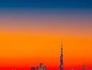 Nothing beats a Dubai sunset. Credit: @wolnerchris
