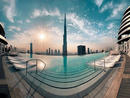 Talk about a dip with a view… Credit: @abdulazizbusaud