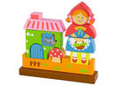 Dhs44 Viga Wood Magnetic 3DRed Riding Hood Puzzle  Ideal for tiny tots aged two and above, the large wooden shapes and colourful shapes help fine motor skills.www.firstcry.ae.