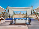 The Ritz-Carlton Ras Al Khaimah, Al Wadi DesertEvery unit in this hotel, which is surrounded by dunes in the Ras Al Khaimah desert, has its own private pool – it's up to you (and your budget) how baller your booking is going to be. The most accessible is the 1,700 sq ft Al Rimal Pool Villa, which sleeps two and offers guests views out to the desert (and wildlife) across its own private pool. Ras Al Khaimah, www.ritzcarlton.com/en/hotels/uae/al-wadi-desert (07 206 7777).