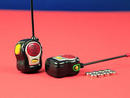 Dhs80 The world's smallest walkie talkiesThey may be little, but they are mighty. Give them a go from opposite sides of the house.www.prezzybox.com.