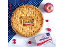 Bake: Apple and raspberry pie Baker: Romy Backus
